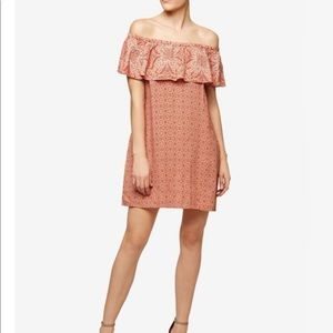 • NWT Anthro Sanctuary off the shoulder dress •